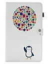 Для Бумажник для карт со стендом Флип С узором Кейс для Чехол Кейс для Животный принт Твердый Искусственная кожа для SamsungTab E 9.6 Tab
