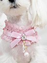 Collar Fashion Bowknot Fabric Lace Black Blushing Pink
