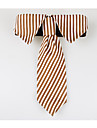 Dog Tie/Bow Tie Dog Clothes Casual/Daily Zebra Coffee Ruby Blue