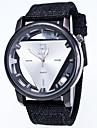 Men\'s Fashion Personality Ttriangle Strands Quartz Watch