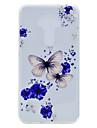 Pour Transparente Motif Coque Coque Arriere Coque Papillon Flexible PUT pour AsusAsus ZenFone 3 (ZE552KL)(5.5) Asus Zenfone 3 ZE520KL