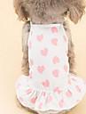 Собаки Жилет Одежда для собак Лето Морской Милые На каждый день Синий Розовый