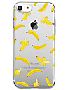 Para Ultra-Fina Transparente Capinha Capa Traseira Capinha Fruta Macia TPU para AppleiPhone 7 Plus iPhone 7 iPhone 6s Plus iPhone 6 Plus