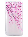 용 울트라 씬 투명 패턴 케이스 뒷면 커버 케이스 꽃장식 소프트 TPU 용 Huawei Huawei P8 Lite (2017) Huawei Honor 6X