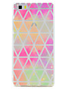For HUAWEI Mate 9 P10 Plus Triangle Pattern Soft TPU Material Phone Case for P10 P8 Lite(2017) P8 Lite Y5 II Y6 II Nove Honor 6X