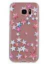 Pour Transparente Motif Coque Coque Arriere Coque Forme Geometrique Flexible PUT pour Samsung S8 S7 edge S7 S6 edge S6 S5 Mini S5