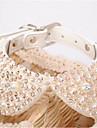 Собаки Ожерелья Одежда для собак Лето Стразы Мода