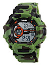 Skmei® Men\'s Outdoor Sports LED Digital Multifunction Camouflage Wrist Watch 50m Waterproof Assorted Colors