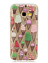 For Samsung Galaxy A5(2016) A3(2016) Ice cream Translucent Pattern Case Back Cover Case  Soft TPU for Samsung Galaxy A3(2017) A5(2017)