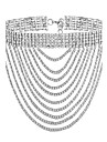 MPL Europe and the United States with multi-layer claw chain clavicular Necklace