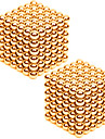 2*216PCS 3mm Same Color Gold&Silver DIY Neodymium Magnetic Balls Buck Ball Spheres Beads Magic Cube Magnets Puzzle Toy(within 1 Box  2 Color Choose)