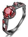 Maxi anel Anel Anel de noivado Cristal Zirconia cubica Moda Personalizado Euramerican Joias de Luxo Bijuterias DestaqueCobre Chapeado