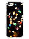 용 케이스 커버 울트라 씬 패턴 뒷면 커버 케이스 꽃장식 소프트 TPU 용 Apple 아이폰 7 플러스 아이폰 (7) iPhone 6s Plus iPhone 6 Plus iPhone 6s 아이폰 6 iPhone SE/5s iPhone 5