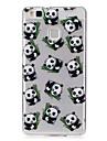 Para IMD Transparente Estampada Capinha Capa Traseira Capinha Desenho Macia TPU para HuaweiHuawei P9 Lite Huawei P8 Lite Huawei Y5 II /