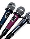 Com Fios-Microfone Portatil-Microfone de KaraokeWith6.3 mm