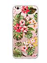 Pour couverture de casse-tete ultra mince motif couverture arriere fleur fleur tpu pour iphone 7 plus 7 6s plus 6 plus 6s se 5s 5