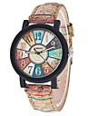 New Fashion Casual Relogio Feminino Vintage Leather Women Quartz Wrist Watch Gift Clock Strap Watch