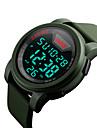 skmei 1218 남자 여자 야외 스포츠 다기능 방수 스포츠 전자 시계