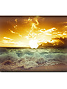 For MacBook Air 11 13/Pro13 15/Pro with Retina13 15/MacBook12 Sea Wave Decorative Skin Sticker