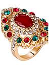 Femme Bagues Affirmees Bague Original bijoux de fantaisie Mode Vintage Personnalise euroamericains Bijoux de Luxe Bijoux Fantaisie Resine
