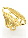 Жен. Для пары Классические кольца Массивные кольца Кольцо БижутерияКруглый дизайн Уникальный дизайн Цветочный дизайн Геометрический