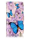 Para huawei p10 lite p8 lite2017 capa capa cartao titular carteira em relevo padrao caixa de corpo inteiro borboleta couro duro para p10