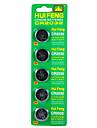 Batterie pour bouton hui feng cr2032 3v 5pcs