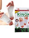 1 doos lichaam toxine reiniging gezond afslanken detox voeten voet patches pads kit (10 patches en 10 lijmen)