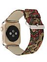 Banda de relogios para Apple Watch Series1 2 pulseira de substituicao de fivela classica de couro genuino