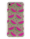 Case for Apple iPhone 7 Plus 7 Pattern Back Cover Fruit Soft TPU 6s Plus 6 Plus 6s 6 5S SE 5