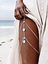 Mulheres Bijuteria de Corpo Cadeia corpo / Cadeia de barriga Moda Liga Joias Para