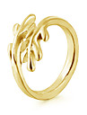 Кольца Свадьба Для вечеринок Повседневные Бижутерия Сплав Женский Классические кольца 1шт,Регулируется Золотой