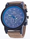 Мужской Спортивные часы Модные часы Кварцевый Нейлон Группа Синий Зеленый Хаки