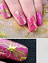 8pcs 3D Full Nail Paste Gemstones With Adhesive Directly Posted Nail Paste Nail Sticker Decals