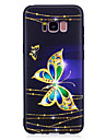 For Samsung Galaxy S8 S8 Plus Case Cover Butterfly Pattern Painted Feel TPU Soft Case Phone Case S7 Edge S7
