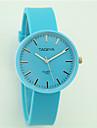 Women\'s Fashion Watch Casual Watch Quartz Silicone Band Casual