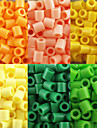 Approx 500PCS/Bag 5MM Fuse Beads Hama Beads DIY Jigsaw EVA Material Safty for Kids(Assorted 6 Color,B17-B24)