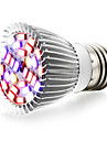 10W E27 LED Grow Lights 28 SMD 5730 800 lm Warm White UV (Blacklight) Red Blue AC85-265 V 1 pcs