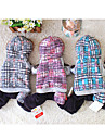 Dog Clothes/Jumpsuit Dog Clothes Casual/Daily Plaid/Check Blushing Pink Blue Gray
