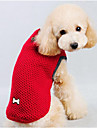 Dog Sweater Dog Clothes Casual/Daily Solid Red Blue