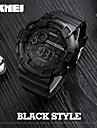 SKMEI Men\'s Sport Watch Digital Watch Japanese QuartzLED Calendar Water Resistant / Water Proof Dual Time Zones Alarm Stopwatch
