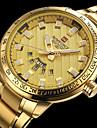 NAVIFORCE Муж. Спортивные часы Армейские часы Нарядные часы Модные часы Наручные часы Часы-браслет Повседневные часы Японский Кварцевый
