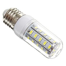 E27 7W 36x5730SMD 650LM 6000-6500K Cool White Light LED Corn Bulb(220V)