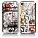 Newspaper Design-Front-und Rückseite Body Protector Aufkleber für iPhone 5