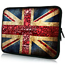 """Red England Flag""Pattern Nylon Material Waterproof Sleeve Case for 11""/13""/15"" Laptop&Tablet"