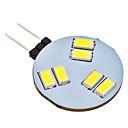 LED Doppel-Pin Leuchten G4 1.5W 150 LM 6000K K 6 SMD 5630 Natürliches Weiß AC 12 V