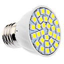 DAIWL Dimmable E27 6W 30xSMD5050 400-500LM 5500-6500K Natural White Light LED Spot Bulb (85-265V)