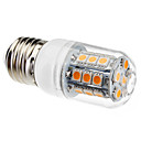 E26/E27 3W 27 SMD 5050 200 LM Warm White T LED Corn Lights AC 220-240 V