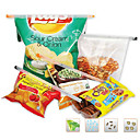 18.5cm Colorful Bag Sealed Clips (4pcs)