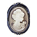 Z&X®  Women's  Beauty Silhouette Brooch
